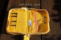 facile et beau - Gusta: Strick-Nadel-Tasche Nr. 1