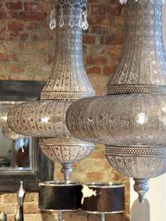 Marokańskie aranżacje wnętrza - lampy