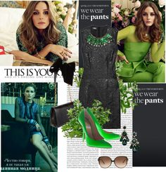 """""""Emerald"""" by ann-fashion ❤ liked on Polyvore"""
