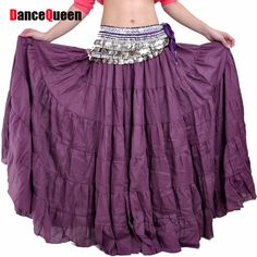 Belly Dancing Long Skirts Bohemia Style Dress 7colors Tribal Dance Skirt Gypsy Dress Skirt For Performance #Affiliate