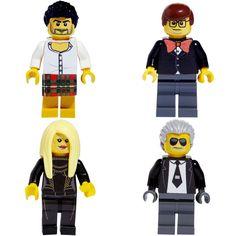 marc, alber, donatella & karl lego