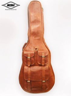 Hey, I found this really awesome Etsy listing at https://www.etsy.com/listing/192991541/leather-guitar-case-soft-case-guitar-bag
