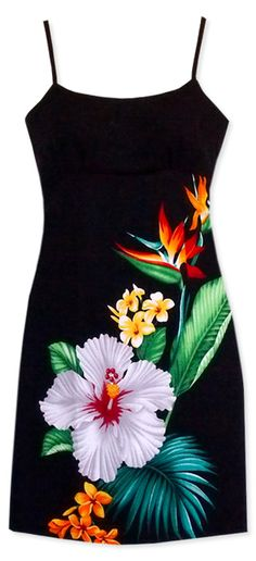So totally wear this on my next vacation! Short Hula Tropic Hawaiian Dress @ Lavahut