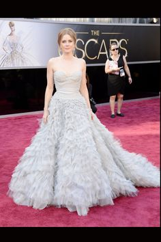 Perfection is possible! Amy Adams wearing Oscar de la Renta @ Oscars '13