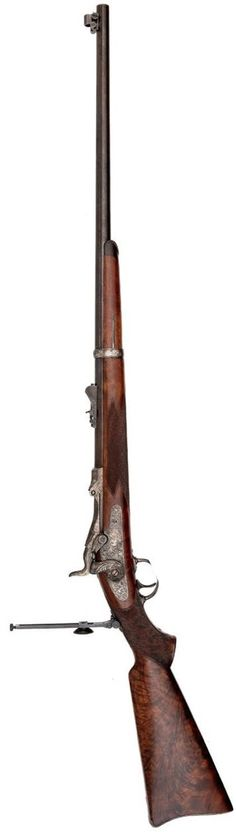 Model 1881 Springfield Marksman Rifle, Presented to 1st Sergeant E.P. Wells.