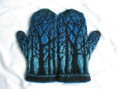 Ravelry: lindsaymudd's Deep in the Forest Mittens
