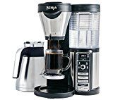 #7: Ninja Coffee Bar Brewer Thermal Carafe with Ninja Hot and Cold 18 oz. Insulated Tumbler and Recipe Book (CF085Z)