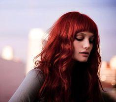 Red head #ruby #fringe