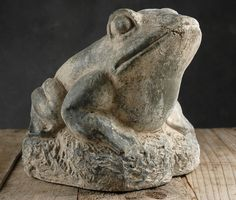 #Stone, #Garden, #Frog,