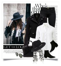 """""""Way to wear a fringe jacket"""" by yexyka ❤ liked on Polyvore featuring J Brand, Ray-Ban, MuuBaa, rag & bone, Givenchy, La Fiorentina, women's clothing, women, female and woman"""