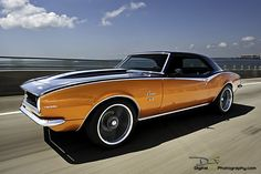 1968 Camaro SS.