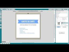 Tutorial Ajustes de Corte en Silhouette Studio: Cuchilla, grosor y velocidad (Español) - YouTube