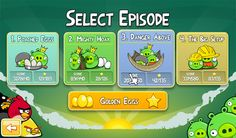 Angry Birds episode selection