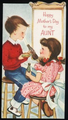 For Aunt Alice on Mother's Day.