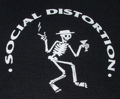 Social Distortion''Skele'' Patch $1.45 #punk #music #punkpatches #clothing www.drstrange.com