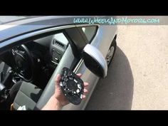 How to replace heated door mirror (wing mirror) glass - VW Sharan 7N - YouTube
