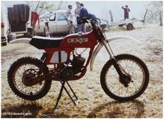 Alfonso Mañer  Derbi Cross 75 cc fabrica 1977