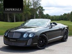 JUST IN! 2007 Bentley GTC with full SuperSports look in Diamond Black! 53,000 miles from new, available at £51,995