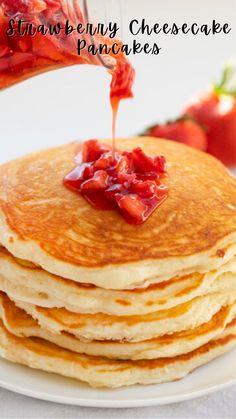Best Pancake Recipe, Pancake Recipes, Best Breakfast Recipes, Brunch Recipes, Breakfast Ideas, Dessert Recipes, Cooking Recipes, Pancakes Easy, Breakfast Pancakes