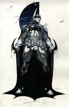 Batman by Simone Bianchi: