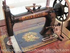 Treadle sewing machine