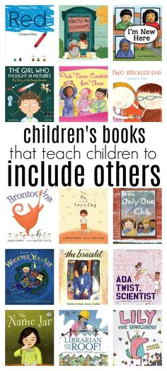 Books are a great tool to teach children how to include others, stories kids can relate to make a big difference and these 23 books are all awesome.