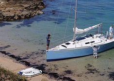Yacht Design, Boat Design, Sailboat Interior, Sailing Catamaran, Honfleur, Old Boats, Mitsubishi Pajero, Le Havre, Places To Visit