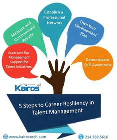 5 Steps to #Career Resiliency in #TalentManagement http://kairostech.com/