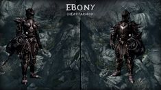 How to get ebony armor