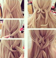 awesome Amazing Heart Twist Hairstyle Tutorial ~ Entertainment News, Photos & Videos - Calgary, Edmonton, Toronto, Canada