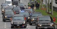 Presidential motorcade or the Dentist