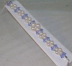 Cristal de Swarovski y perlas joyas joyas para por kippyskreations