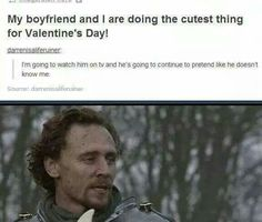 Fangirls on Valentine's day be like...