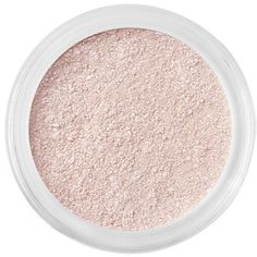 bareMinerals Pink Eyecolor Eye Shadow, Cultured Pearl 0.02 Oz ($14) ❤ liked on Polyvore