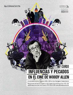 En este curso se conocerán, analizarán y compararán las películas y cineastas que han inspirado o bien servido como base del cine de Woody Allen junto con las películas que ha creado como resultado de estas influencias. Además, se profundizará en su trayectoria como autor y en su lenguaje cinematográfico.