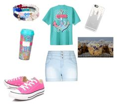 """Making muffins in home ec."" by raquate1232 ❤ liked on Polyvore featuring City Chic, Converse, Sequin, Casetify and plus size clothing"