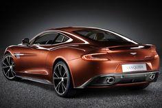 The New Aston Martin Vanquish.