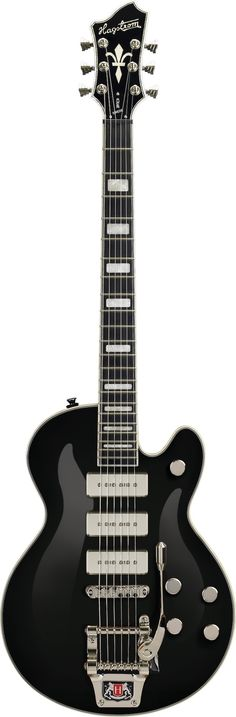 Hagstrom Super Swede: Before I became interested in playing the guitar one of my best friends owned and electric guitar. It was a Hagstrom. A year or two later after I started playing my mom's classical (while saving paper route money for my first electric) another friend I made also had a Hagstrom.  They must've been affordable or something. They weren't as nice as this beauty, that I can assure you.
