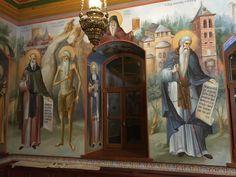 Byzantine Icons, Byzantine Art, Orthodox Icons, Fresco, Christianity, Catholic, Scene, Mosaics, Ministry