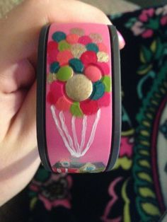 Has anyone decorated their Magic Bands? Please show us the pictures! - Page 82 - The DIS Discussion Forums - DISboards.com