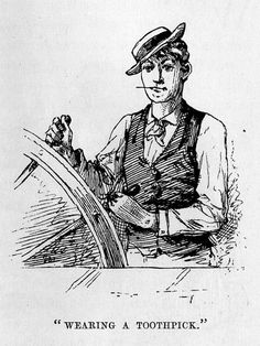 Illustration of a young Samuel Clemens by John Harley. Dobbs Ferry, Steamboats, Mark Twain, University, California, History, Illustration, Illustrations, Historia