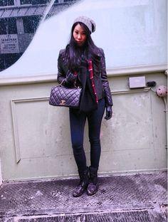 La Dolce Gia #nycstreetstyle #ootd Chanel, Micheal Kors, Club Monoco