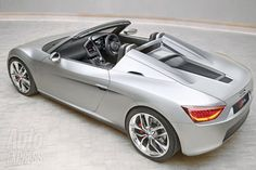 Roadster Audi R4 will recruit ranks exotic sportcars