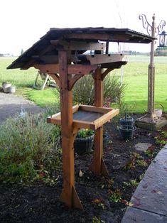 Large Bird Feeders, Wood Bird Feeder, Ground Bird Feeder, Deer Feeders, Bird Feeder Stands, Bird Tables, Bird Feeding Station, Western Red Cedar, Backyard Birds