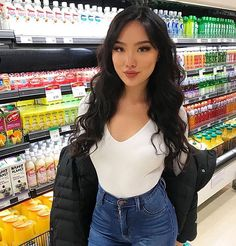 Transform Your Looks With This Advice Fashion Line, Girl Fashion, Fashion Outfits, Asian Woman, Asian Girl, Trajes Kylie Jenner, Fall Outfits, Cute Outfits, Beautiful Girl Image