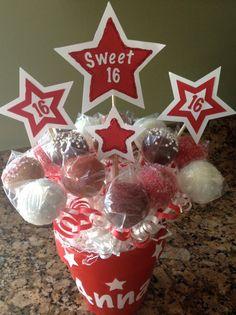 American Girl/Sweet Sixteen Cake Pop Bouquet