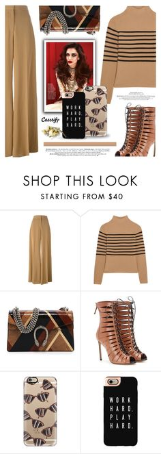 """""""Casetify.com"""" by defivirda ❤ liked on Polyvore featuring STELLA McCARTNEY, Topshop Unique, Gucci, Francesco Russo and Casetify"""