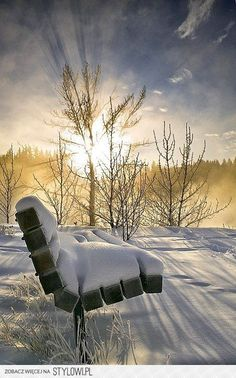 the #sun is shining above us.  #Winter #Snow