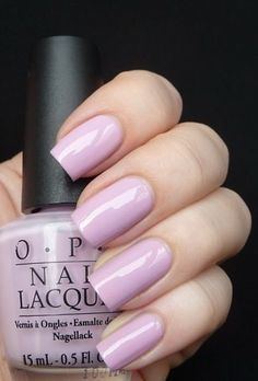 OPI Panda-monium pink is from the Hong Kong Collection Nail Polish Opi Nail Colors, Spring Nail Colors, Spring Nails, Nail Colour, Winter Nail Designs, Colorful Nail Designs, Winter Nails 2019, Lavender Nails, Nagellack Trends