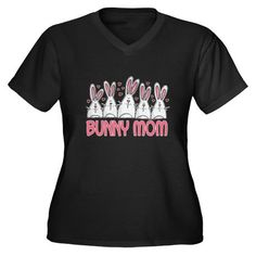 Shop Bunny Mom II Women's Plus Size V-Neck Dark T-Shirt designed by corriewebstore. Lots of different size and color combinations to choose from. Mini Lop Rabbit, Pet Rabbit, Color Combinations, Shirt Designs, Bunny, Plus Size, V Neck, Mom, Rabbits